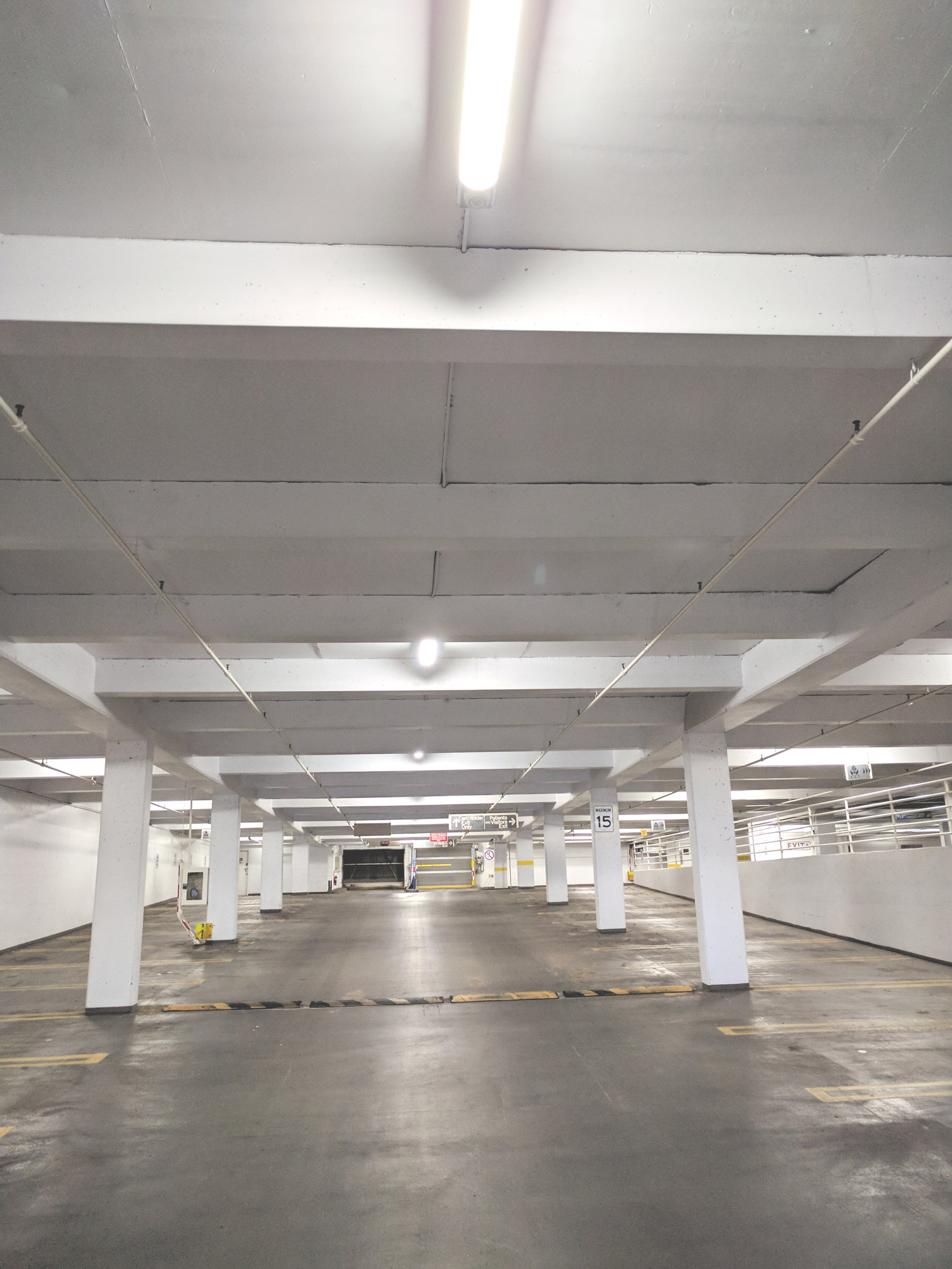 LED lighting solutions for a parkade