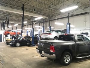 LED lighting solutions for a mechanical bay