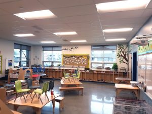 LED lighting solutions for a classroom in Alberta